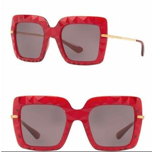 DOLCE & GABANNA~51mm Oversized Square Sunglasses❤️